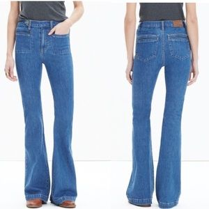Madewell x Daryl K vintage flare jeans